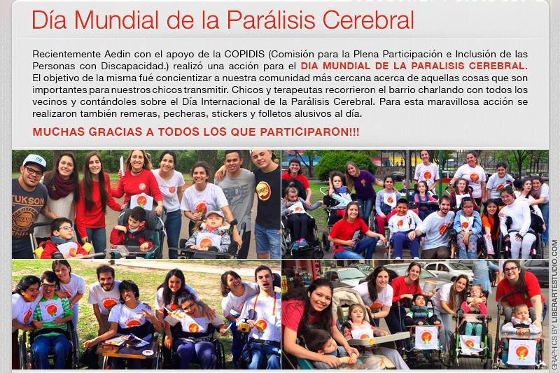 Dia Mundial de la Paralisis Cerebral