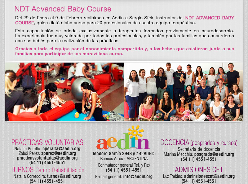 NDT Advanced Baby Course