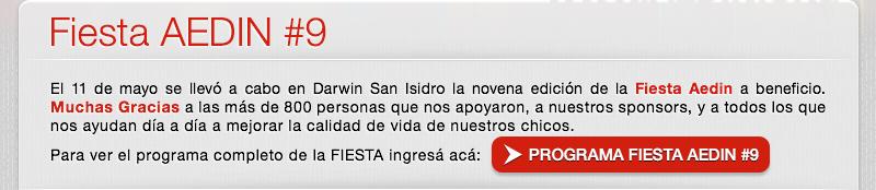 Fiesta AEDIN#9