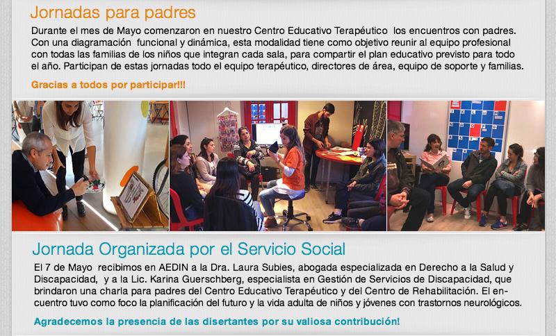 Jornada Organizada por el Servicio Social